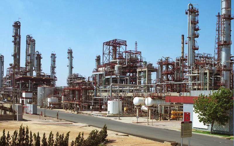 Refineria Cepsa La Rábida Huelva